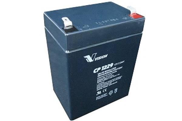Bilde av VISION AGM Batteri 12V 2,9AH (79x55x104mm)