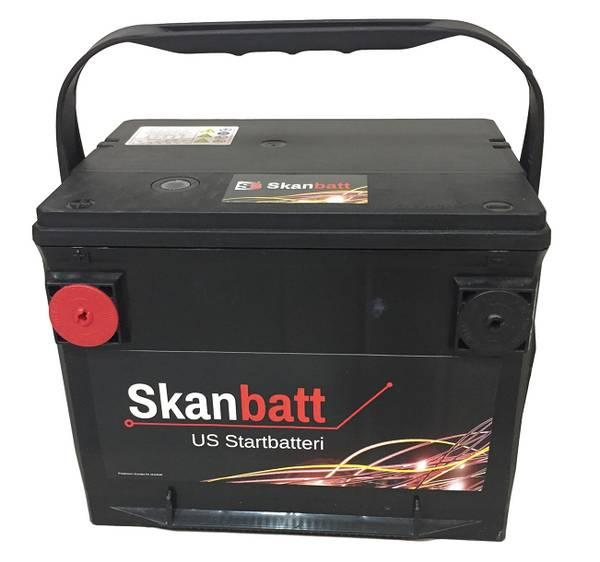 Bilde av SKANBATT Startbatteri 12V 65AH 650CCA (230x179x180/180mm) +venst