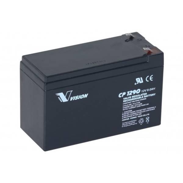 Bilde av VISION AGM Batteri 12V 9Ah (151x65x100) F2