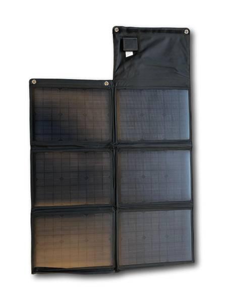 Bilde av SKANBATT Sammenleggbart solcellepanel 60W