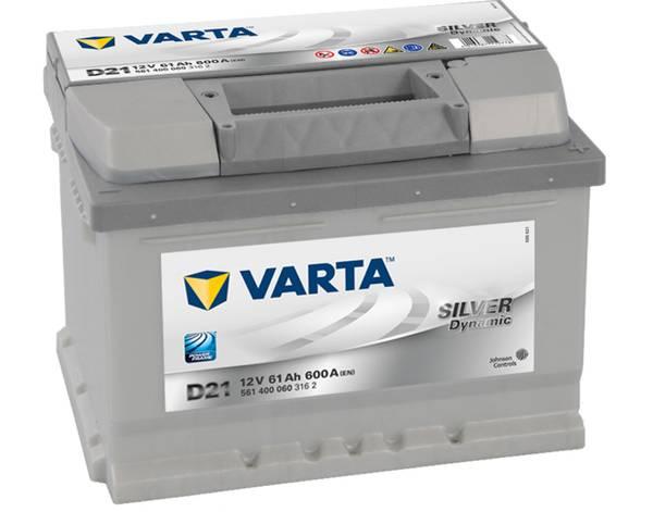 Bilde av VARTA D21 Silver Dynamic Batteri 12V 61AH 600CCA (242x175x175)