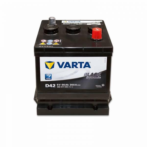 Bilde av VARTA D42 Promotive Black Batteri 6V 66AH 360CCA (178x175x188mm