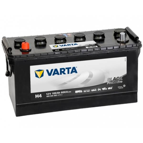 Bilde av VARTA H4  Promotive HD Batteri 12V 100AH 600CCA (413x175x200/220