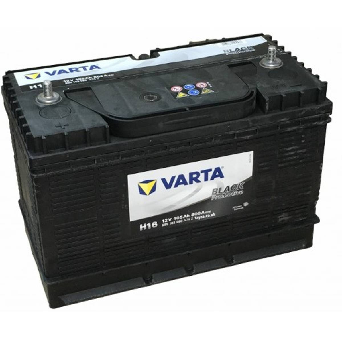 H16 VARTA Promotive HD Batteri 12V 105AH 800CCA (330x172x220/240