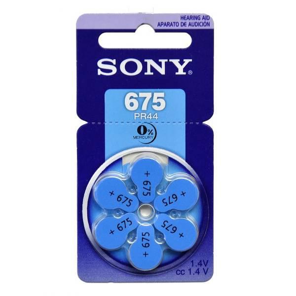 Bilde av SONY Høreapparatbatteri PR675 - 6pk