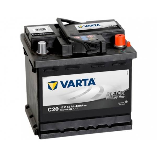 Bilde av VARTA C20 Promotive HD Batteri 12V 55AH 420CCA (242x175x190)