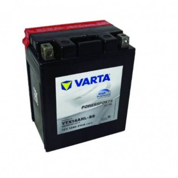 Bilde av  VARTA YTX14AHL-BS AGM MC Batteri 12V 12AH 210CCA (134x89x166mm)