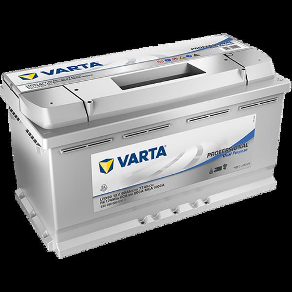 Bilde av VARTA LFD 90 Professional Dual Batteri 12V 90AH 800CCA
