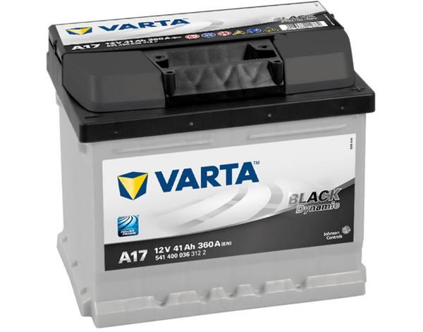 Bilde av VARTA A17 Black Dynamic Batteri 12V 41AH 360CCA (207x175x175/17