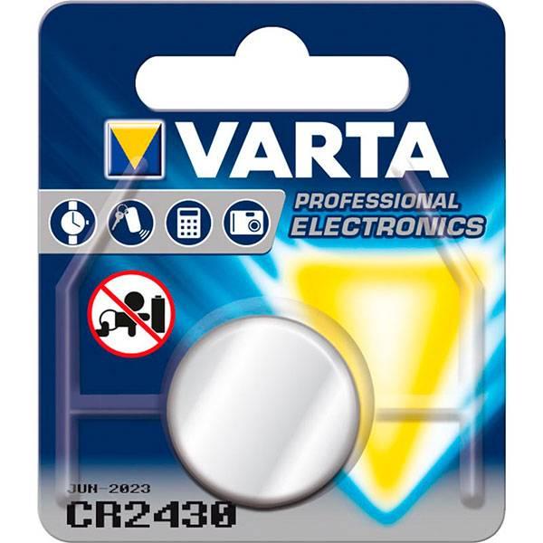 Bilde av VARTA Lithium CR2430 3V 2-Pakning