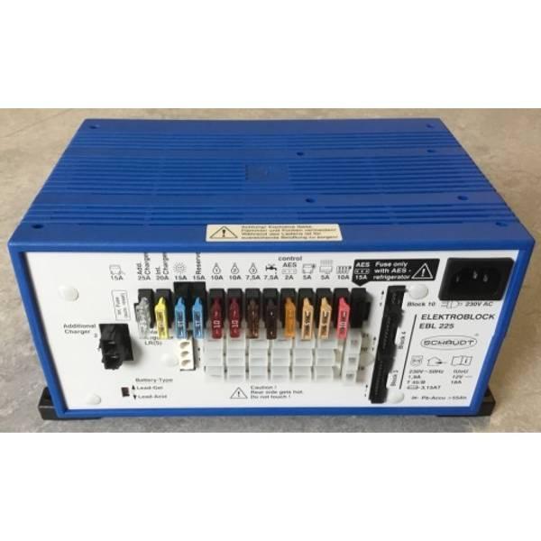 Bilde av Schaudt EBL225 Strømsentral for bobiler