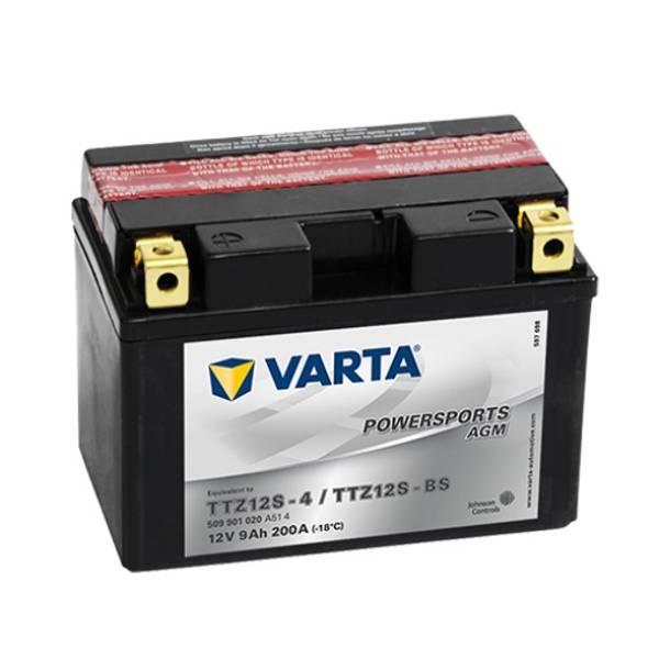 Bilde av  VARTA TTZ12S-BS AGM MC Batteri 12V 9AH 200CCA (150x87x110mm) +v