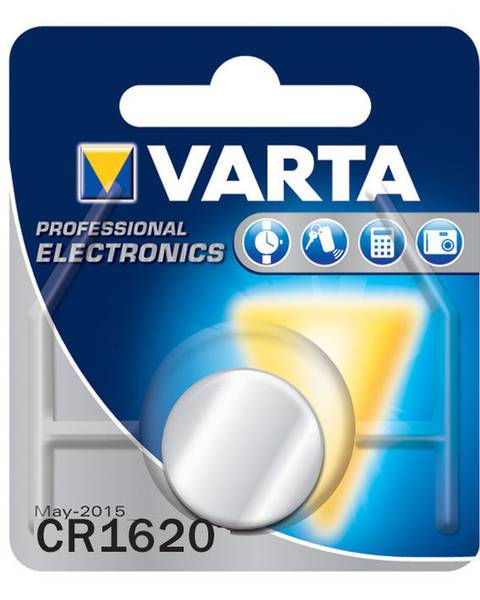 Bilde av VARTA Lithium CR1620 3V 1-Pakning