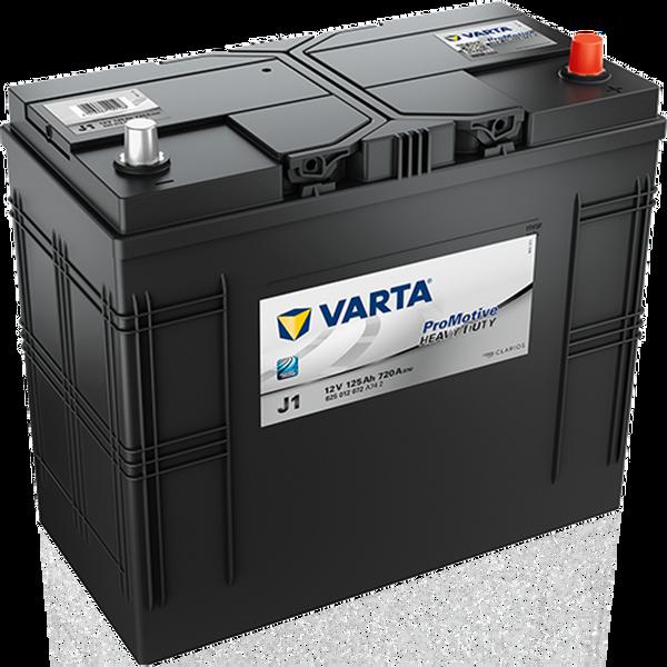 Bilde av  VARTA J1 Promotive Black Batteri 12V 125AH 720CCA