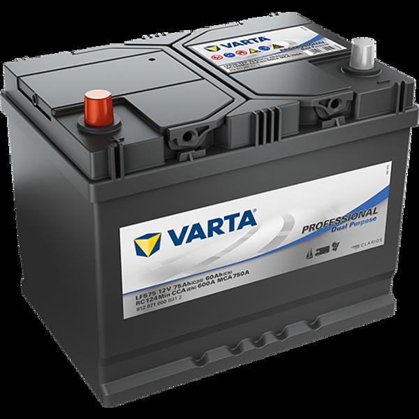 Bilde av VARTA LFS 75 Professional Dual Batteri 12V 75AH 600CCA