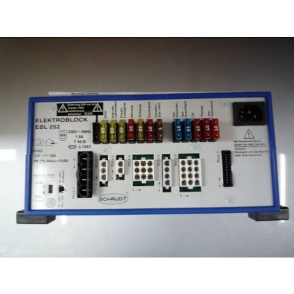 Bilde av Schaudt EBL252 Strømsentral for bobiler