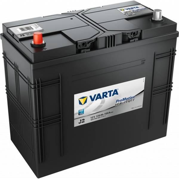 Bilde av  VARTA J2 Promotive Black Batteri 12V 125AH 720CCA