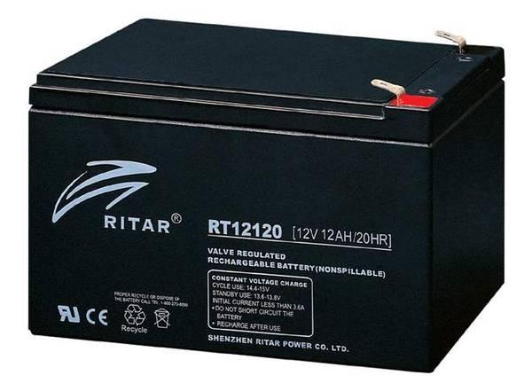 Bilde av RITAR AGM  12V 12AH (151x98x95mm) F2