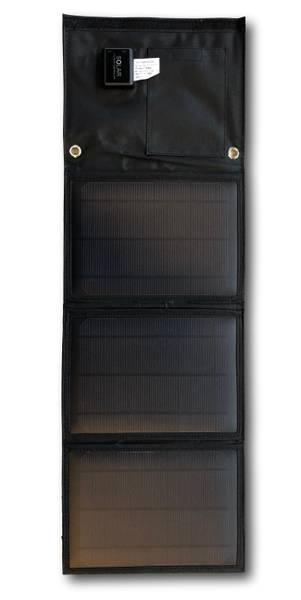 Bilde av SKANBATT Sammenleggbart solcellepanel 15W