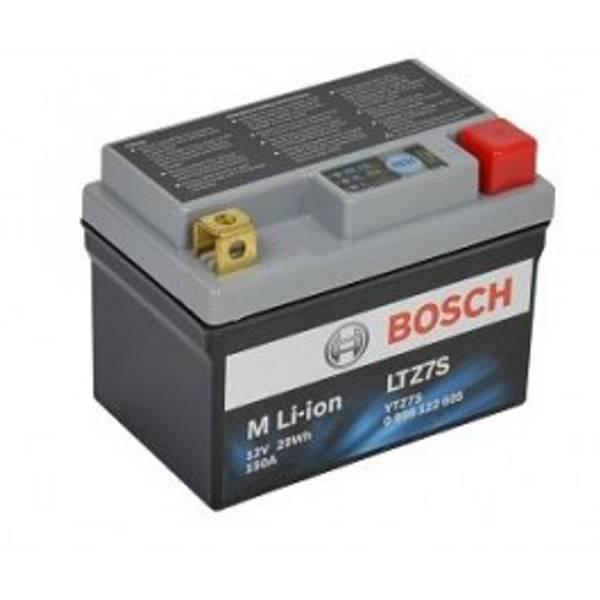 Bilde av BOSCH MC lithium ion 12V 29Wh 150CCA (113x69x85/105mm) +høyre