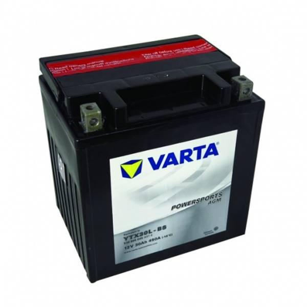 Bilde av  VARTA YTX30L-BS AGM MC Batteri 12V 30AH 450CCA (166x127x175mm)