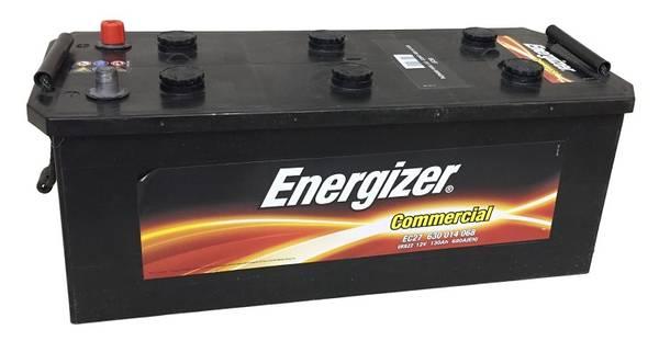 Bilde av EC27 ENERGIZER Commercial Batteri 12V 130AH 680CCA (514x218x195/
