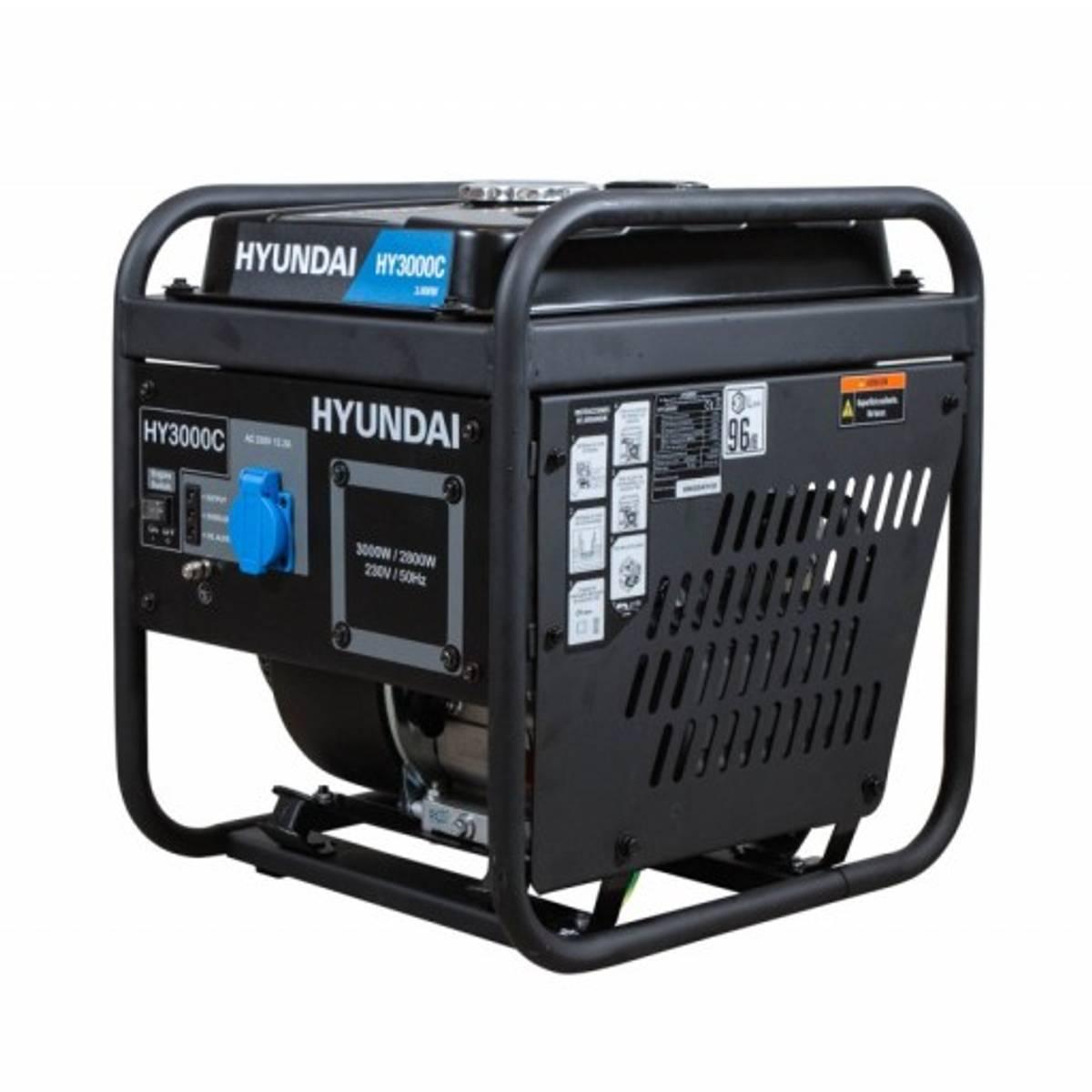 HYUNDAI HY3000C Digitalt Aggregat 3000W