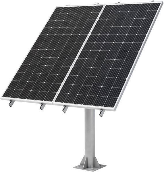 Bilde av Bakkestativ til solcelle 2x300/350W (Wattstunde)
