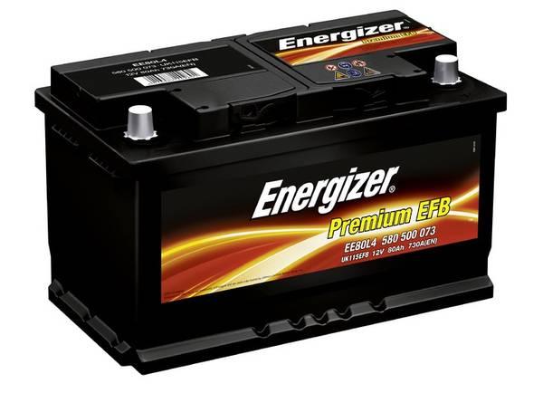 Bilde av EE80L4 ENERGIZER Premium EFB Batteri 12V 80AH 730CCA (315x175x19