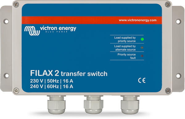 Bilde av Filax 2 Transfer Switch CE 230V/50Hz-240V/60Hz