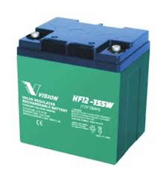 Bilde av VISION AGM Batteri 12V 28Ah (165x125x175mm)