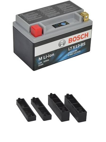 Bilde av BOSCH MC lithium ion 12V 42Wh 210CCA (150x87x93mm) +venstre
