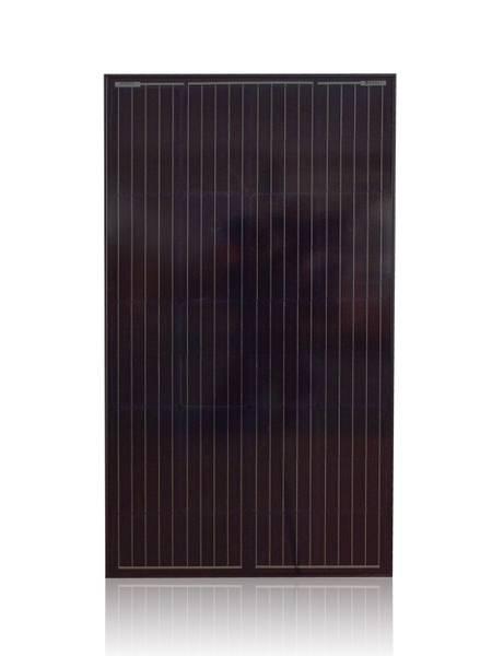 Bilde av 130W SKANBATT Solcellepanel Mono 130W Sort