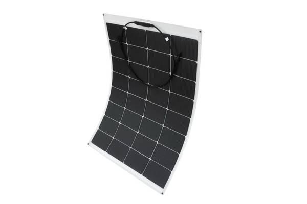 Bilde av 80W SKANBATT Fleksibelt Solcellepanel Mono 80W