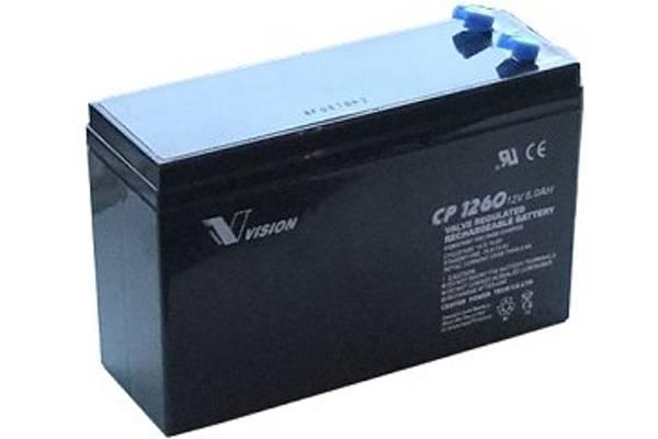 Bilde av AGM Batteri 12V 6AH 151x52x99 - HR1224V