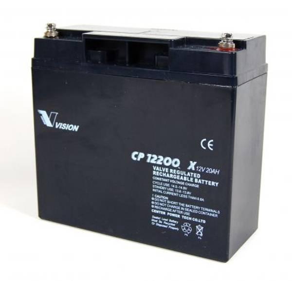 Bilde av VISION AGM Batteri 12V 20AH