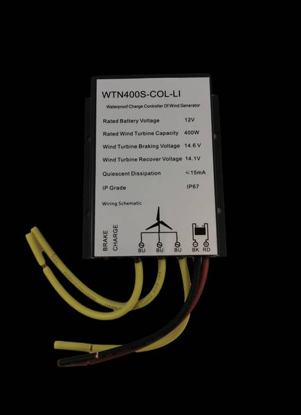Bilde av SKANBATT WTN400S-LI Laderegulator til 12v 400w vindturbin for Li