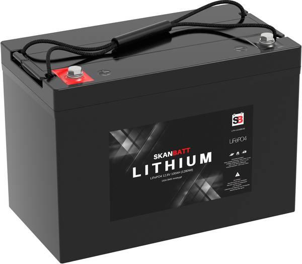Bilde av  Lithium Batteri 12V 100AH 150A BMS