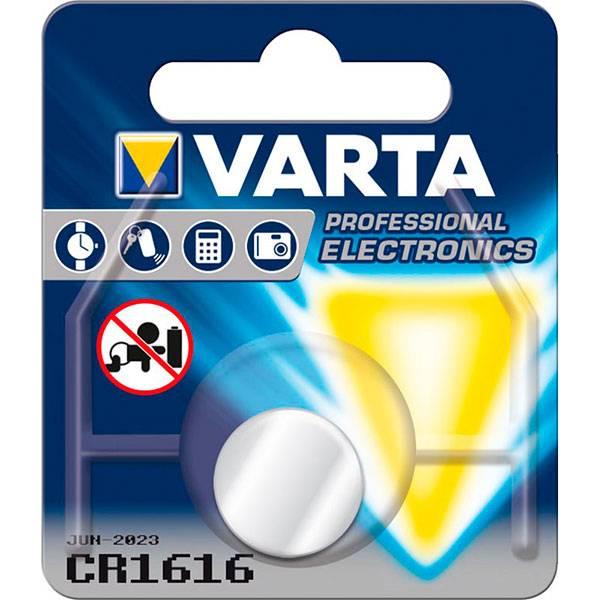 Bilde av VARTA Lithium CR1616 3V 1-Pakning