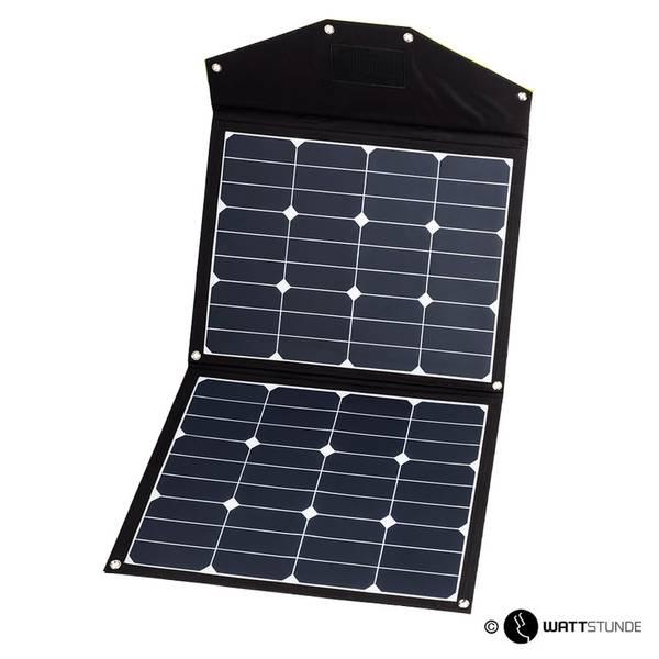 Bilde av WATTSTUNDE Sammenleggbart Solcellepanel  80W