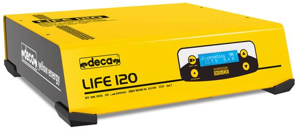 Bilde av DECA Elektronisk batterilader + diagnoselader 12V 120A