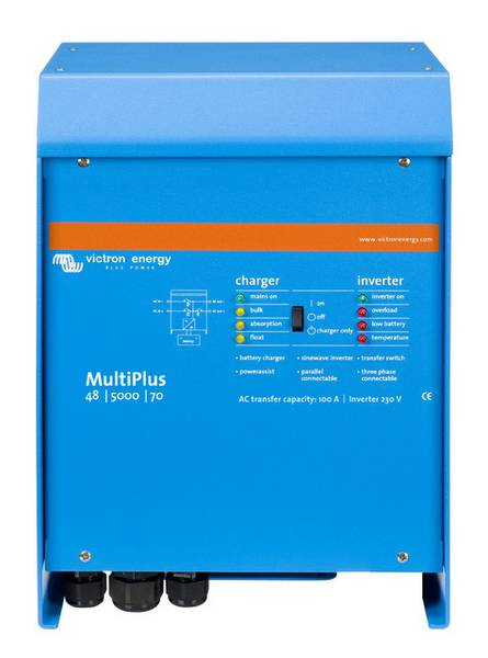 Bilde av VICTRON MultiPlus C48/5000/70-100 kombi inverter og lader