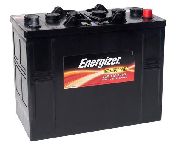 Bilde av EC25 ENERGIZER Commercial Batteri 12V 125AH 720CCA (349x175x270/