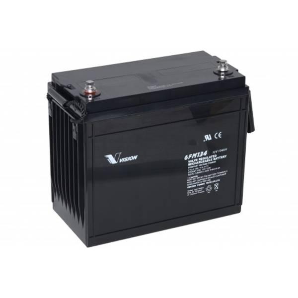 Bilde av VISION AGM Batteri 12V 134AH (341x173x287mm)