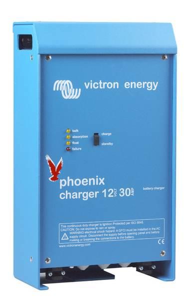 Bilde av VICTRON Phoenix 12V 50A 2+1 kanaler