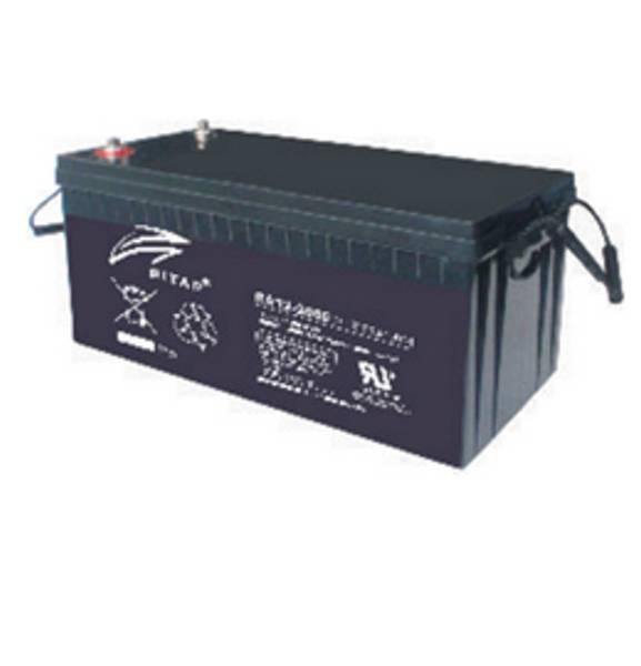 Bilde av RITAR AGM Deep Cycle Batteri 12V 180AH (530x209x219mm) +høyre 25