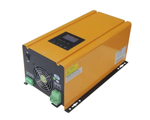 Bilde av SKANBATT Kombi Batterilader og Inverter 12V 3000W m/Fjernkontrol