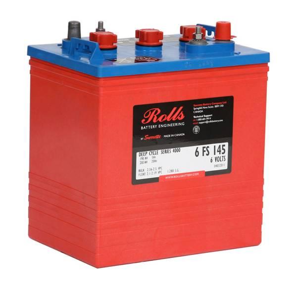 Bilde av ROLLS 6-FS-145 Deep Cycle Batteri 6V 250AH (259x181x290mm)