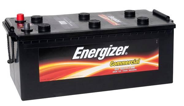 Bilde av EC2 ENERGIZER Commercial Batteri 12V 155AH 900CCA (513x223x205/2