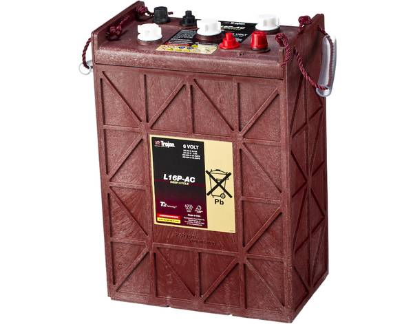 Bilde av TROJAN Deep Cycle Traksjonsbatteri 6V 420AH (296x176x425mm) +dia